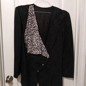Skirt & Jacket / 100%silk & 100% soie